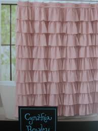 Cynthia Rowley Curtain Ruffled Shower Curtains Shower Curtains Outlet