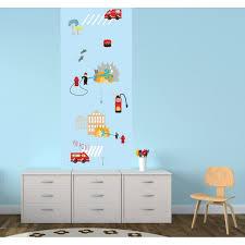 papier peint chambre gar n papier peint pompiers pour chambre d enfant
