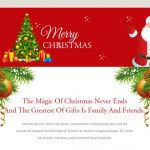 merry christmas u0026 happy new year email template cards images