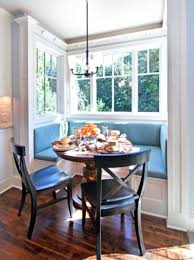 breakfast nook dining set with storage window seat with storage