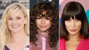 the 11 best hairstyles with bangs u2014 bang hairstyles allure