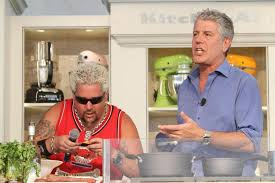 anthony bourdain anthony bourdain has no hate for guy fieri ny daily news