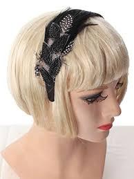 feather headband beaded black satin feather headband fascinator hair accessories