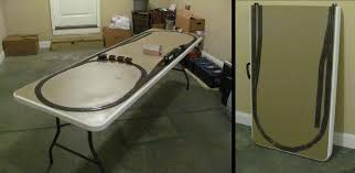 fold up train table a fold up portable on30 western layout o gauge railroading on line