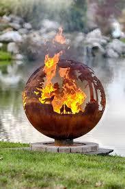Burning Pit Of Fire - best 25 metal fire pit ideas on pinterest steel fire pit