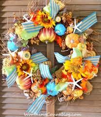 beautiful fall wreath ideas completely coastal