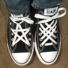 shoelace pattern for vans shoelace pattern pentagram woven pinteresting pinterest