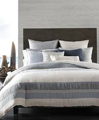 What Is Duvet Bedding Hotel Collection Linen Stripe Duvet Covers Created For Macy U0027s