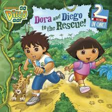 dora diego rescue diego books