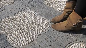 Building Stone Patio by Building A Decorative Stone Patio To Last The Washington Post
