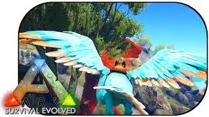ark survival evolved ep 6 argentavis vs alpha trex youtube