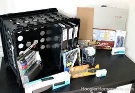Back To School Desk Organization Back To School Desk Organization Hoosier