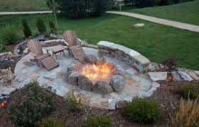 Starting A Fire Pit - bbq and fire pit safety