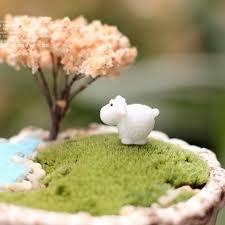 new arrival miniatures sheep garden mini animals ornaments