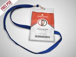 multipurpose office id card template psd psdfreebies com