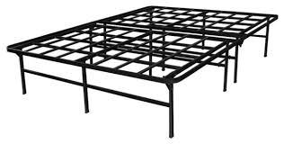 Metal Platform Bed Frames Heavy Duty Metal Platform Bed Frame Supports Up To 4 400 Lbs