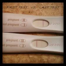home pregnancy test one line dark other light pregnancy test photos becoming parents