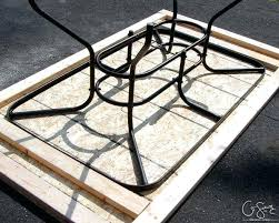 tile table top design ideas patio table glass replacement ideas arhidom info