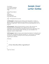 basic resume outline cover letter cover letter outline resume badak