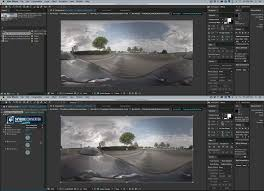 Displacement Map After Effects How To 3d Camera Track 360 Footage In After Effects Skybox