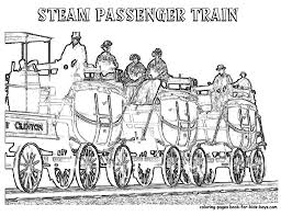 image gallery old train coloring pages