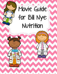 video worksheet movie guide for bill nye nutrition