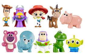 disney pixar toy story deluxe mini figure 10 pack toys