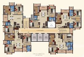 Multi Family Apartment Floor Plans Crest By Baashyaam Construction Pvt Ltd Omr