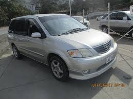 mpv car mazda mpv 2001 up03762 as is where is weathershields tint rear
