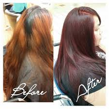regis hair salon cut and color prices corrective color all over the place to even tone and shade hair