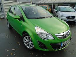 opel green used vauxhall corsa active green cars for sale motors co uk