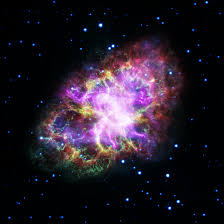 image of stunning image of the crab nebula put together from five