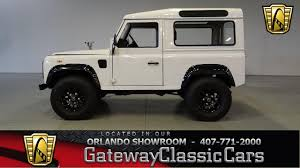 land rover defender 90 lifted 1988 land rover defender 90 gateway orlando 787 youtube