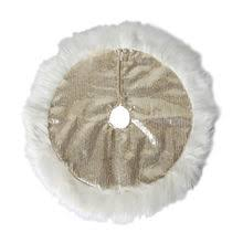 faux fur tree skirt find the merry minis white faux fur christmas tree skirt by