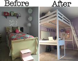 teen girls bed teen bedroom re do that wins the mom of the year