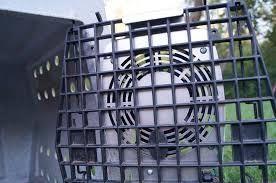 12 volt heavy duty metal fan heavy duty dog crate fans by prairie logic