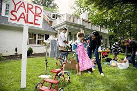 Garage Sale Organizers - how to organize a successful yard sale