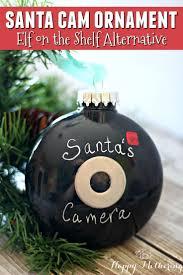 santa ornament alternative to on the shelf santa