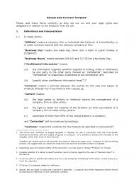 contract goods sale contract form
