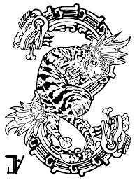 design tiger serpent by jhnyv on deviantart