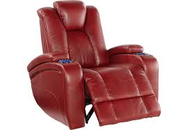 red recliner chairs u0026 rockers fabric microfiber leather gliders