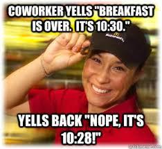 Macdonalds Meme - nice mcdonalds employee memes quickmeme