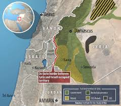 Syria On A Map by Israeli Commandos Save Islamic Militants From Syria Daily Mail