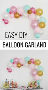 diy balloon garland balloon garland garlands and easy