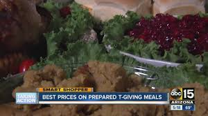 Thanksgiving Meal Deals Thanksgiving Turkey Deals Which Valley Grocery Store Will Take