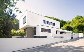 architektur bauhausstil architektenhaus in königstein bauen flachdach