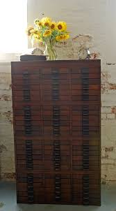 72 Storage Cabinet Beautiful Wood Vintage Document Storage Cabinet With 72 Drawers