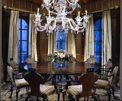Round Glass Dining Room Table  Round Dining Room Table - Round dining room tables seats 8