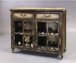 distressed wood bar cabinet antique distressed wine cabinet pulaski furniture bar