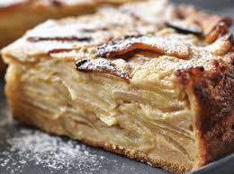 cuisine gateau aux pommes gâteau aux pommes renversé recettes femme actuelle